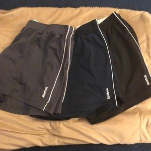 Reebok PlayDry Athletic Shorts - Three Pair Bundle